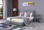 Quilting Seam PU Bed King Bed Home Furniture Set