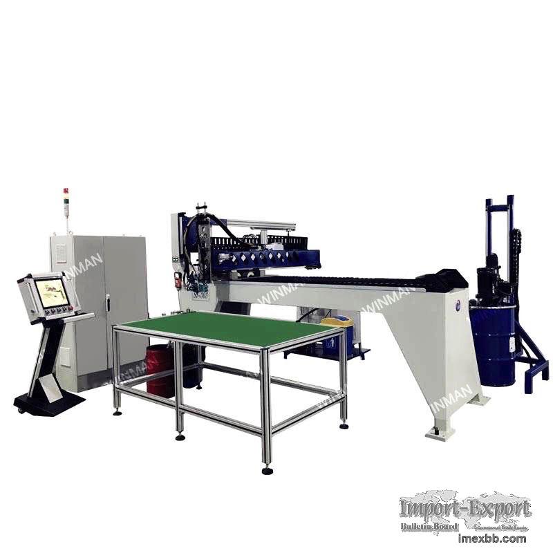 sheet Metal Electrical Enclosure Box FIPFG Machine PU gasket machine