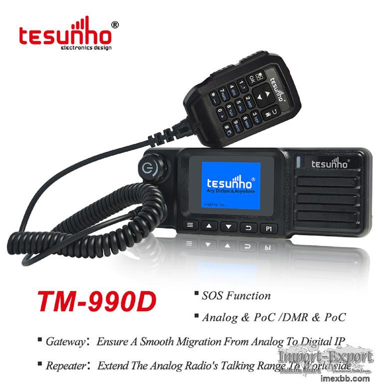 TM-990D Car Walkie Talkie Analog UHF Repeater