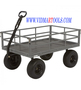 Bannon Industrial Grade Steel Garden Wagon 1.500 Lb. Capacity 52in.L x 34in