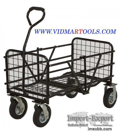 Strongway Steel Folding Utility Cart 330 Lb. Capacity 49in.L x 25 1/2in.W