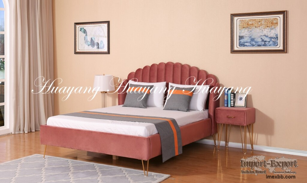 Non-Folding Bed Non-Adjustable Height Bed Non-Removable Bed Modern Fingerli