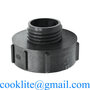 "IBC S100x8/3"" Female to S60x6/2"" Male Buttress Adapter Plastic Reducer"