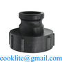 """IBC S100x8/3"""" Female Buttress to 2"""" Camlock Quick Coupling Adapter Reducer"""