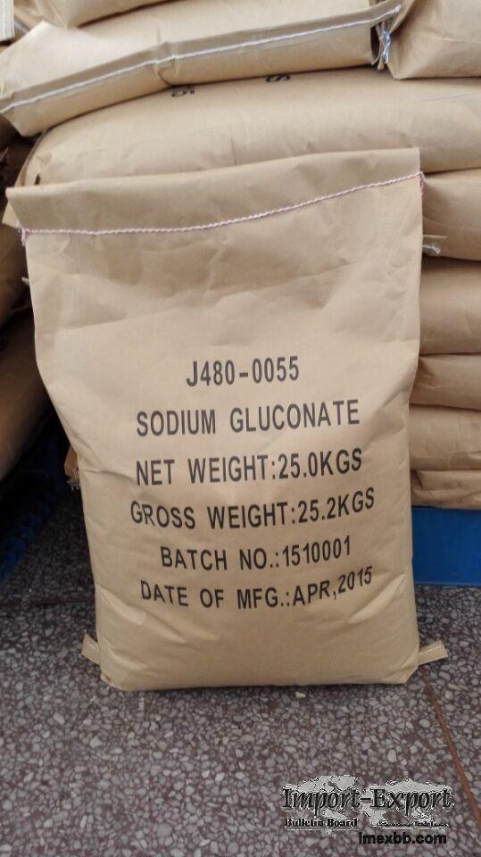 Export Sodium Gluconate