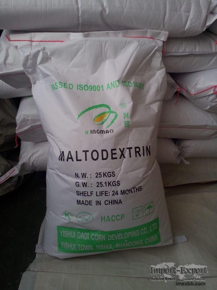 Export Maltodextrin DE 10-12/10-15/15-20/22-29