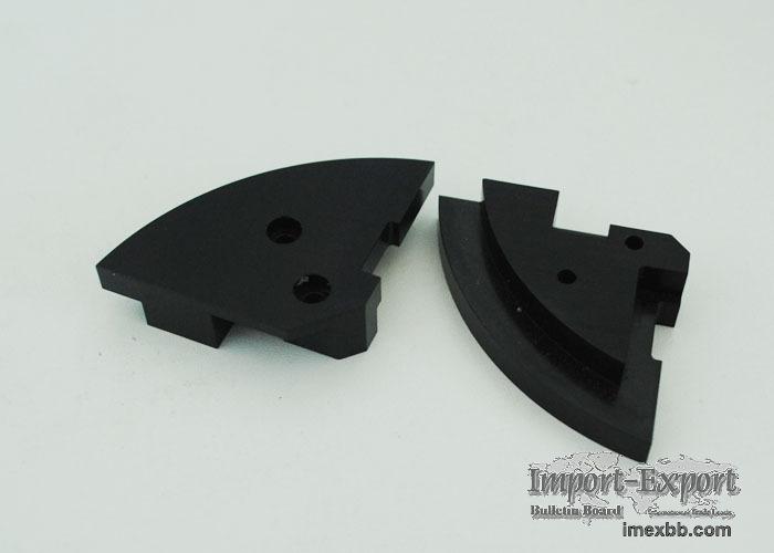 Plastic electrical part machining China-PVC part PET part
