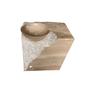 Pedestal basin, Brown Wooden Vein