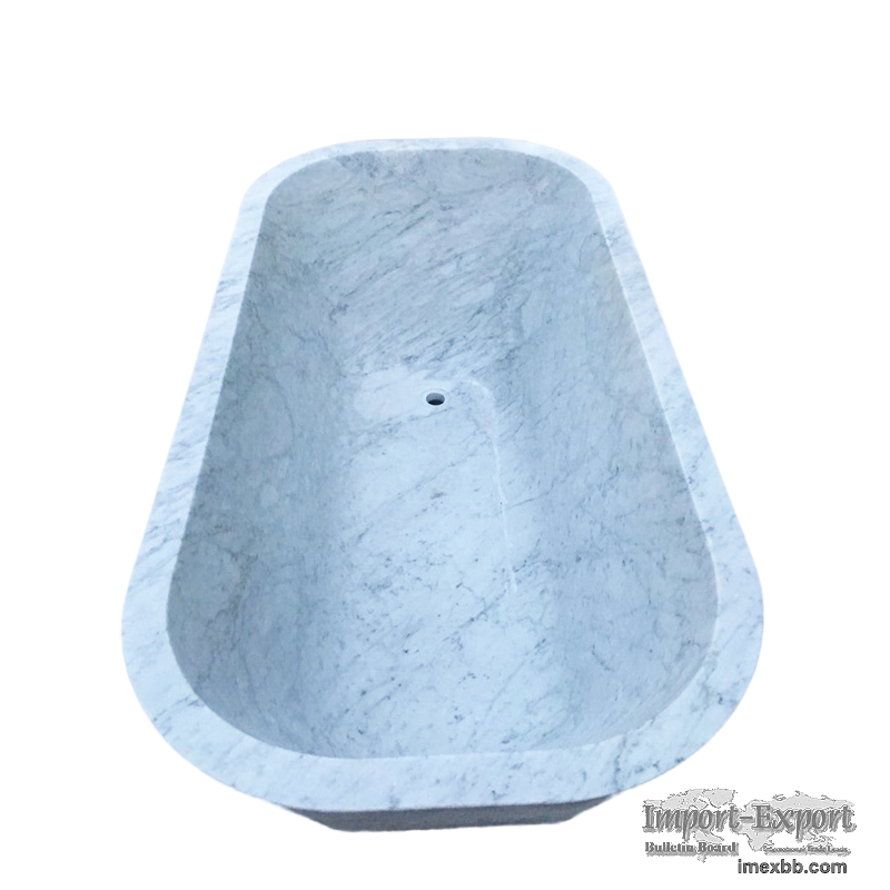 Marble Bathtub, Bianco Carrara