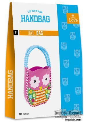 EASY WAY TO MAKE HANDBAG-OWL BAG