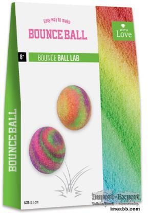 EASY WAY TO MAKE  BOUNCE BALL-BOUNCE BALL LAB