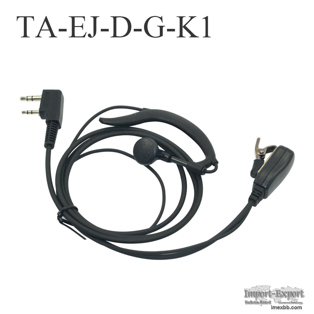 Handheld Walkie Tailkie Earphone TA-EJ-D-G-K1