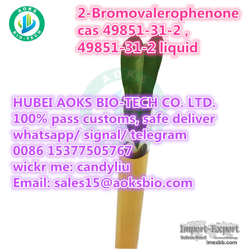 cas no. 49851-31-2 2-Bromovalerophenone cas 49851 31 2 China supplier