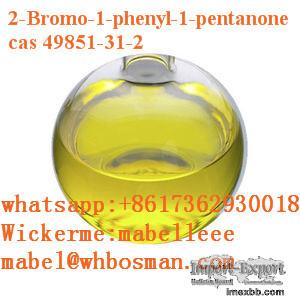 CAS 49851-31-2/2-BROMO-1-PHENYL-PENTAN-1-ONE yellow liquid