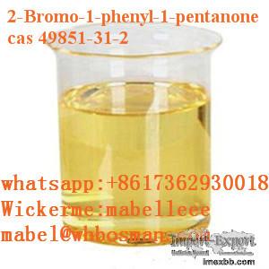 CAS 49851-31-2 High quality 2-BROMO-1-PHENYL-PENTAN-1-ONE yellow liquid