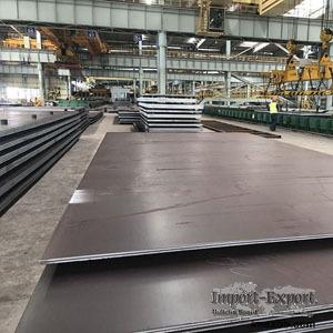 EN10025-4 steel grade S460M plate data sheet