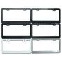 Aluminum alloy plate framework    custom aluminum license plate frames