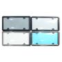 Plastic metal ul license plate frame     Ul plastic license plate frame