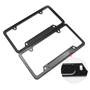 Ul carbon fiber license plate frame   American license plate frame