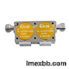 High isolation coaxial isolator dual junction isolator