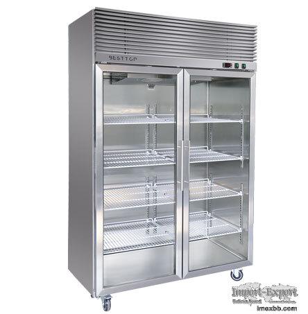 Glass Door Reach In Freezer