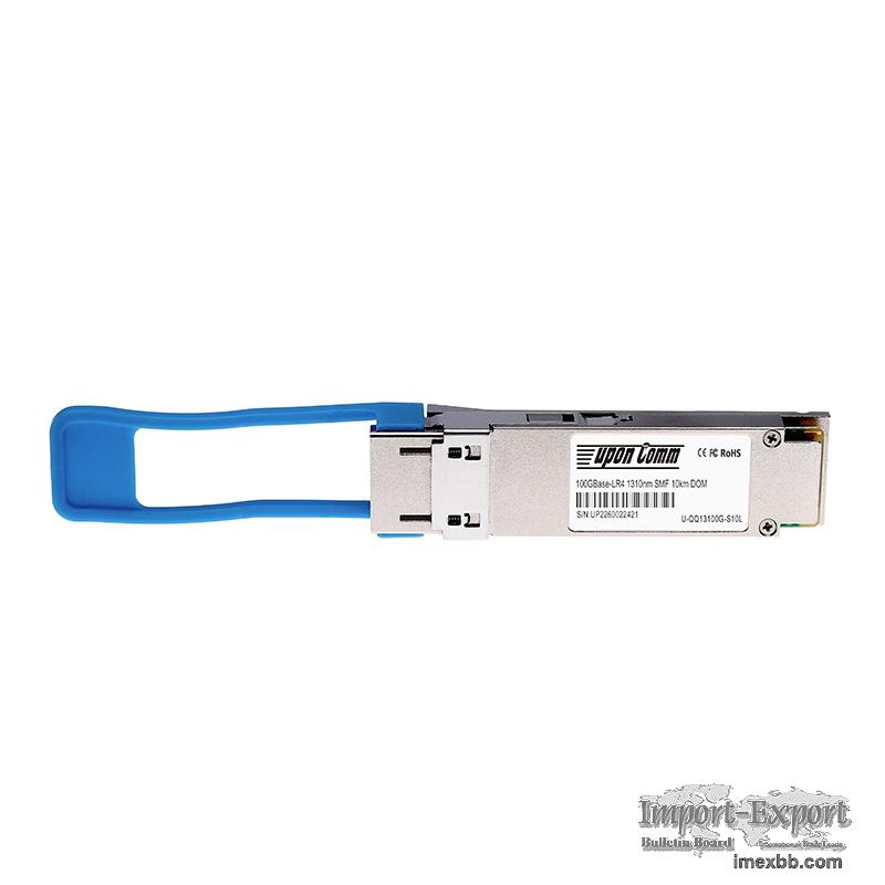 Cisco QSFP-100G-LR4-S Compatible 100GBASE-LR4 QSFP28 1310nm 10km DOM Optica