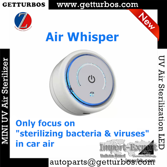 AirWhisper mini portable car air sterilizer uv sterilizer air purifier