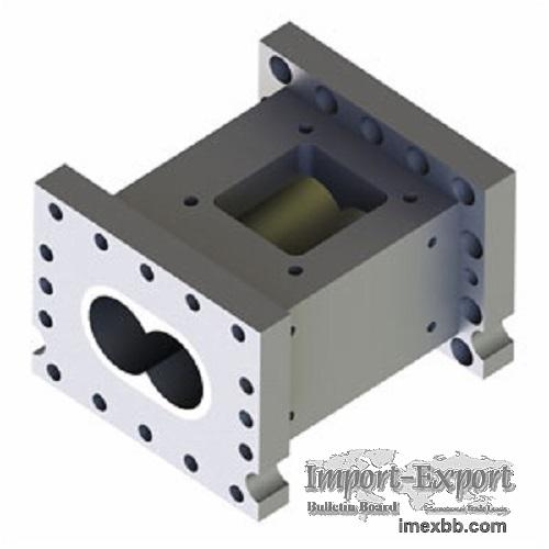 Extruder Open Screw Barrel