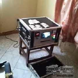 Machine for cleaning black money