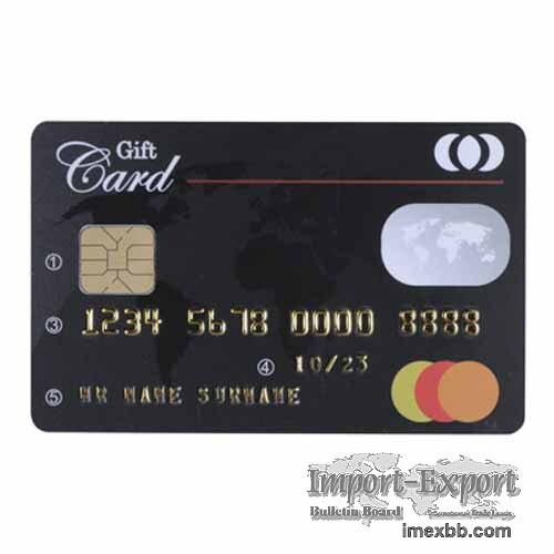 Customized Plastic Card Accessories