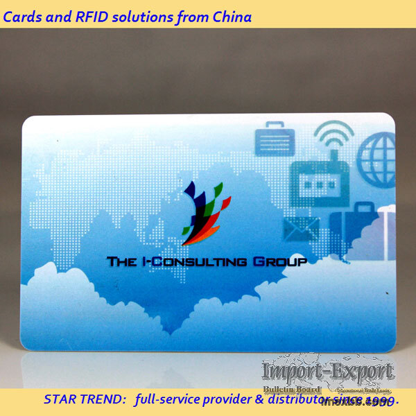 Customized Plastic Card Finishes
