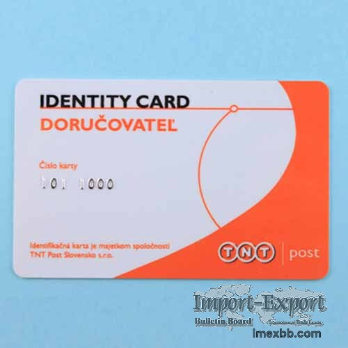 Embossing Number Card