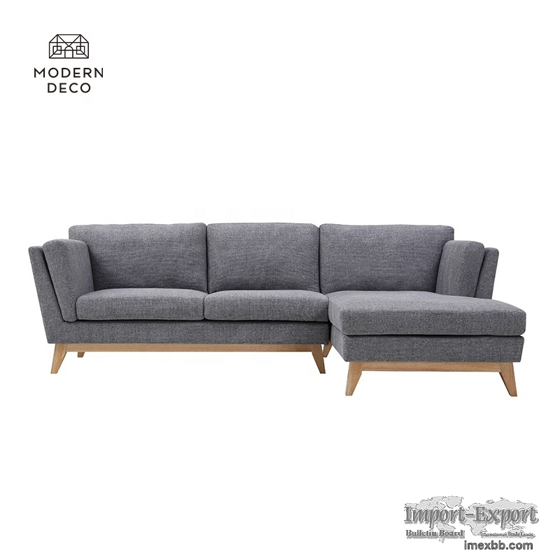 reversible modern sectional sofa 3 piece L shaped corner best quality 2021