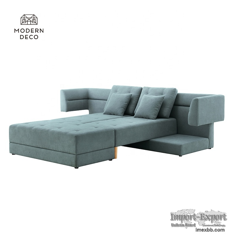 convertible multifunctional couch sectional sofa with storage ottoman 2021