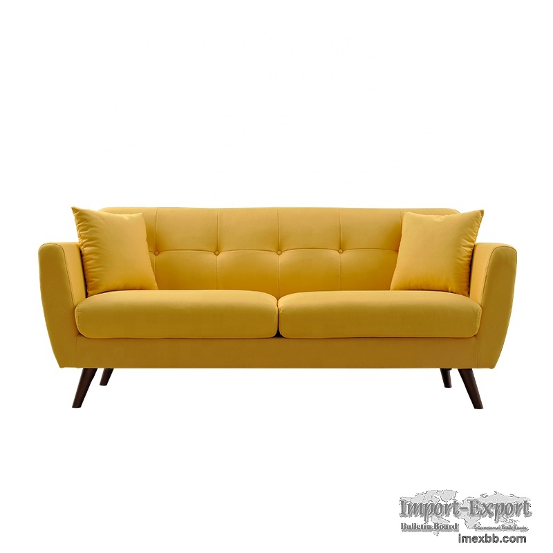 living room modern sofa tufted contemporary 3 seater customized 2021