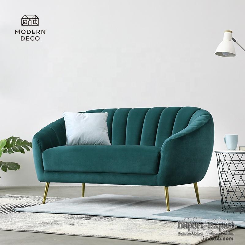 modern emerald green gold velvet armchair velour chair customized 2021