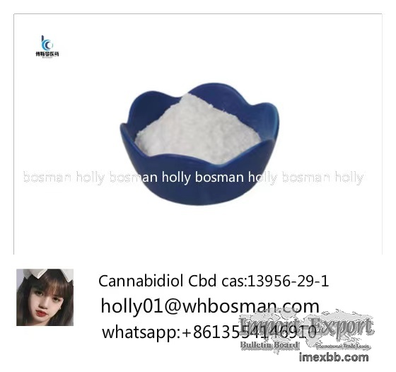 GMP 99% Hemp Extract Cannabidiol Cbd Crystal Isolate Cbd Powder13956-29-1