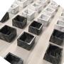 Rectangular Marble Container, Staturioetto or Calacatta