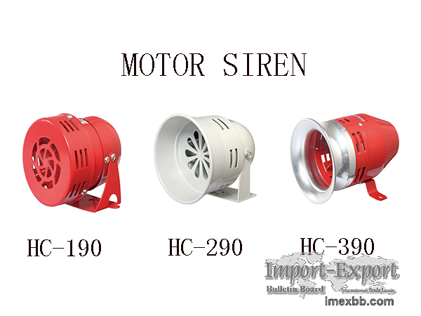 MS190 MS290 MS390 MOTOR SIREN