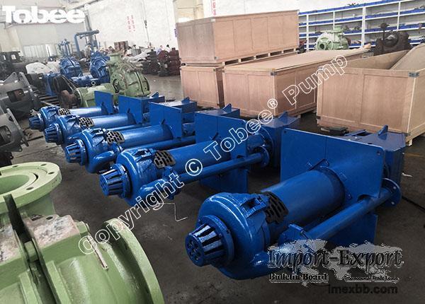 SP/SPR vertical sump pumps, vertical spindle pumps,vertical slurry pumps