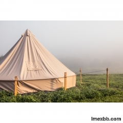 4m Canvas Bell Tent   canvas bell tent for sale