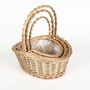 Wicker basket ---a good choice for your life
