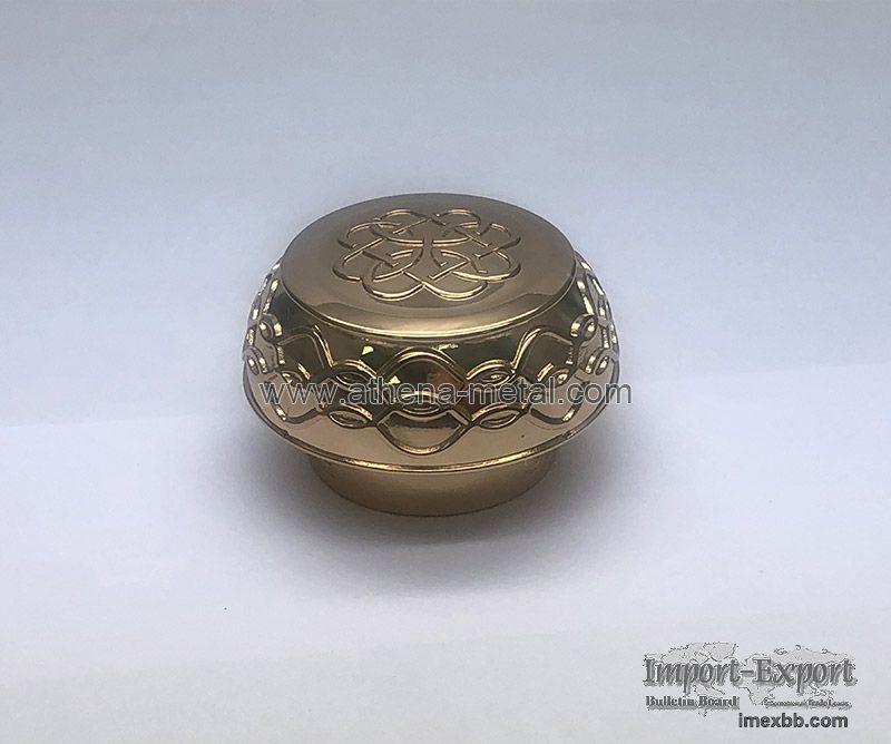 Round Perfume Cap  OEM Silver Perfume Cap factory