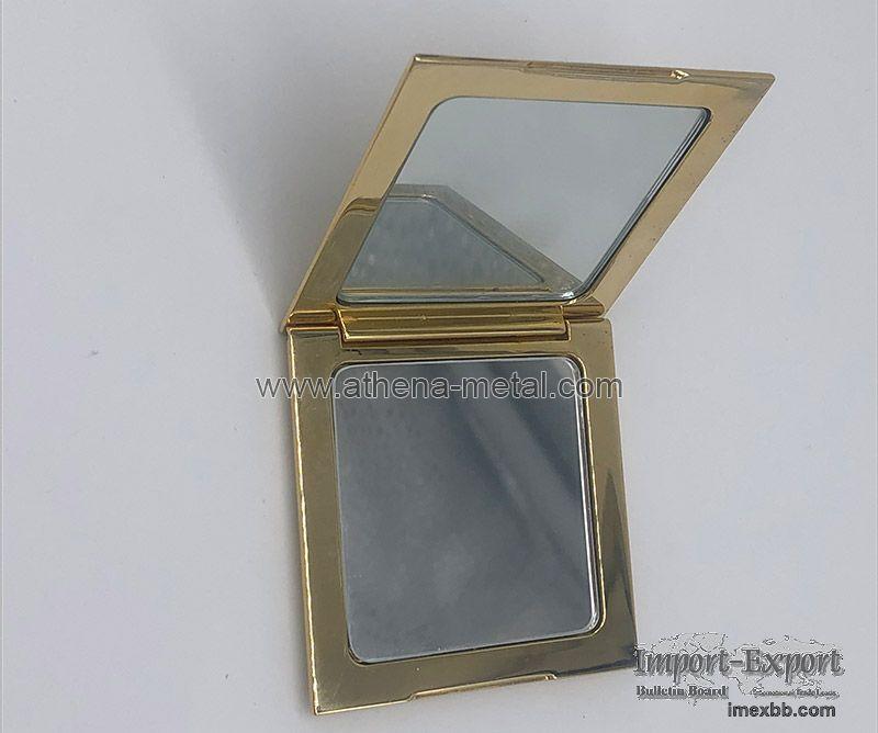 Suqare Metal Compact  OEM Metal Compact box