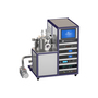 lab dc rf magnetron three gun co-sputtering coating machine
