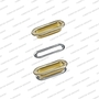 Oval eyelets with washers OVL TP