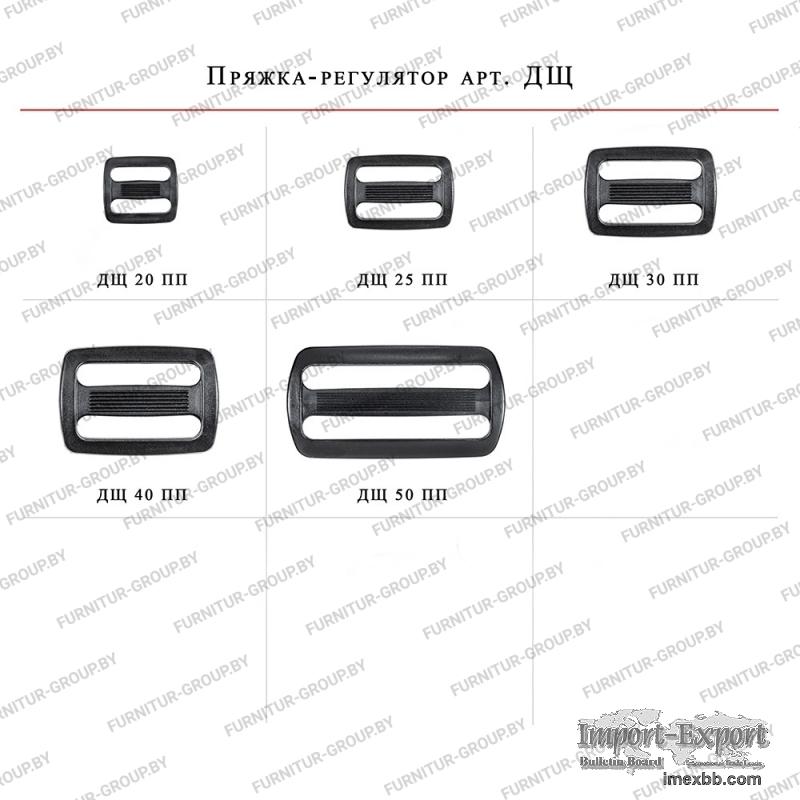 Plastic accessories //  Buckle-regulators