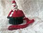 sante claus hand crochet  shoulder bag