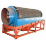 High Efficient Rotary Drum Screen / Trommel Screen For Gold Ore Separation