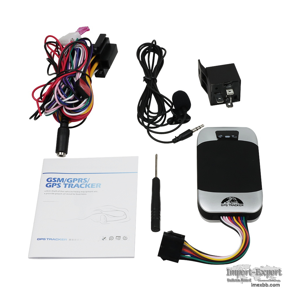 Anti-Theft GPS Vehicle GPS303 with Engine Shut off for Car and Motorcycle T